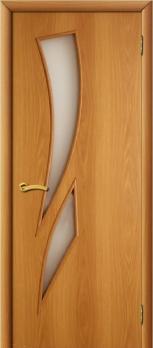 Дверь ламинированная межкомнатная ПО Стрелиция Миланский орех