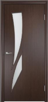 Дверь ламинированная межкомнатная ПО Стрелиция Венге