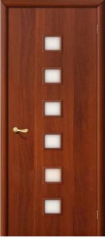Дверь ламинированная межкомнатная ПО Квадрат Итальянский орех
